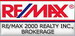 RE/MAX 2000 REALTY INC., BROKERAGE