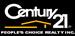 CENTURY 21 PEOPLE'S CHOICE REALTY INC. logo