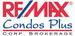 RE/MAX CONDOS PLUS CORPORATION logo